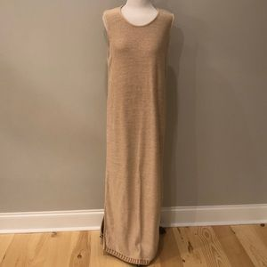 Peruvian Connection Sweater Maxi Dress 100%Cotton